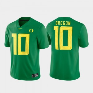 Men Game #10 Oregon Duck Football college Jersey - Green