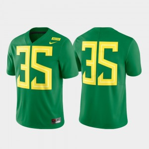 Mens Football #35 Limited UO college Jersey - Green