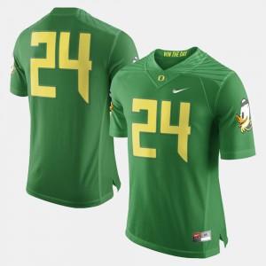 Men's University of Oregon Football #24 college Jersey - Green
