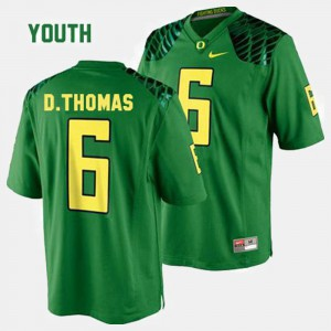 Kids #6 Football UO De'Anthony Thomas college Jersey - Green
