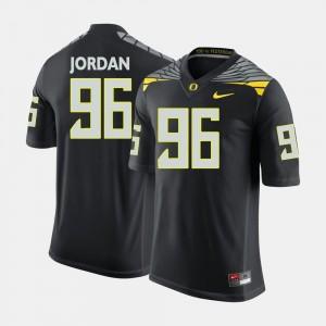 Men Oregon Duck #96 Football Dion Jordan college Jersey - Black