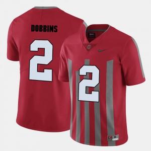 Mens UO Football #2 J.K. Dobbins college Jersey - Red