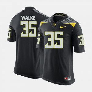 Men's Football #35 Oregon Duck Joe Walker college Jersey - Black