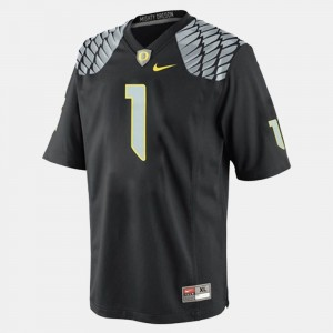 Kids Football #1 Oregon Duck Josh Huff college Jersey - Black