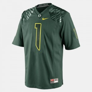 Youth(Kids) Ducks Football #1 Josh Huff college Jersey - Green