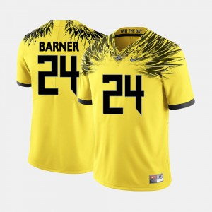 Men's Football Oregon Ducks #24 Kenjon Barner college Jersey - Yellow