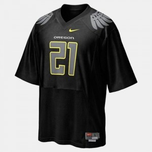 Youth #21 Football University of Oregon LaMichael James college Jersey - Black
