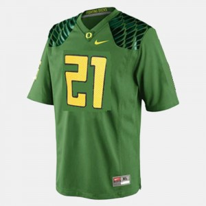 Men Football #21 University of Oregon LaMichael James college Jersey - Green