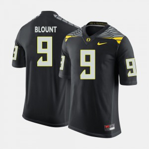 Men Football Oregon Ducks #9 LeGarrette Blount college Jersey - Black