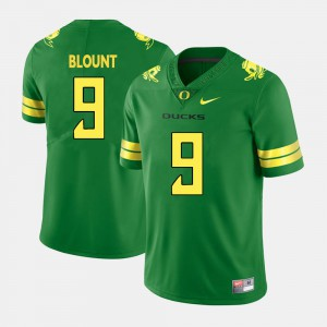 Men's Oregon Duck #9 Football LeGarrette Blount college Jersey - Green