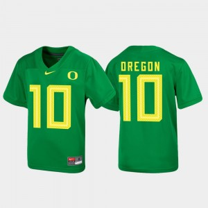 Kids Untouchable Football #10 Ducks college Jersey - Green